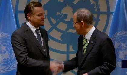 Léonardo DiCaprio discours ONU