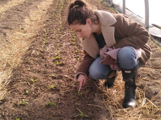 Lucie Lucas actrice permaculture