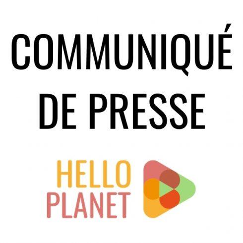 Communiqué de presse Hello Planet
