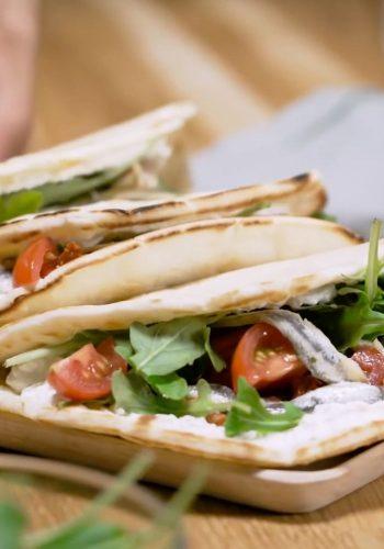 CITEO : Piadines aux anchois et tomate – Une recette pour trier vos emballages ?