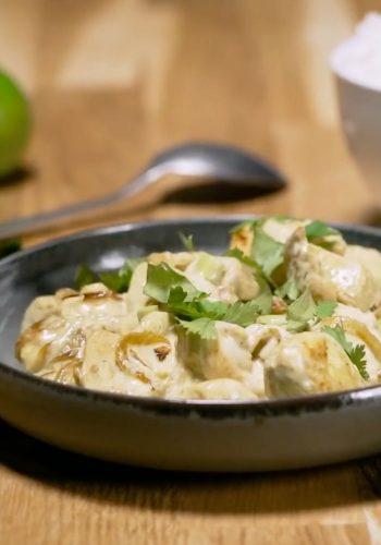 CITEO : Poulet thaï à la crème de coco – Une recette pour trier vos emballages ?