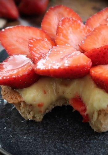 Recette de Crème Pâtissière Vegan avec Mail0ves