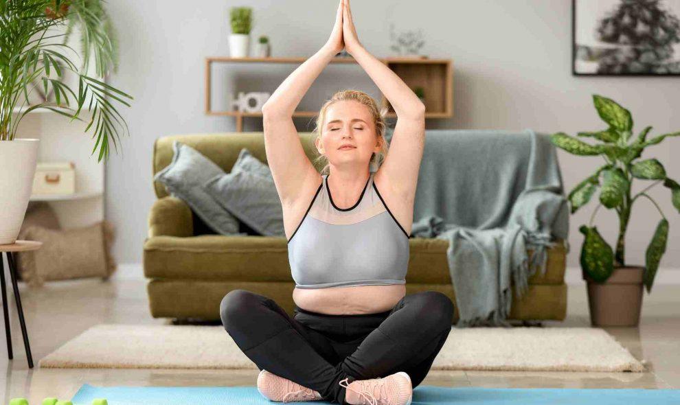 VISUEL yoga fait-il maigrir