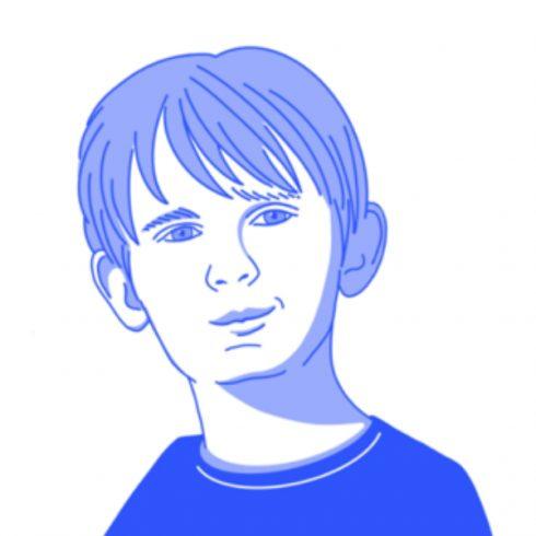 Raphaël, l'enfant qui nettoie la Seine.